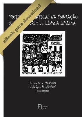 Capa para PROJETOS E PRÁTICAS NA FORMAÇÃO DE PROFESSORES DE LÍNGUA INGLESA