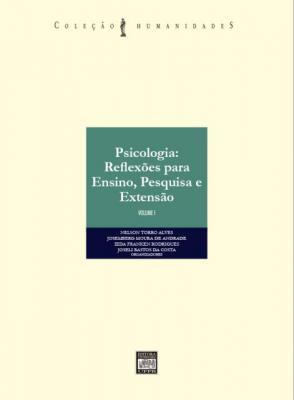Capa para Psicologia: reflexões para Ensino, Pesquisa e Extensão - Volume I