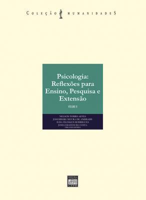 Capa para PSICOLOGIA: REFLEXÕES PARA ENSINO, PESQUISA E EXTENSÃO - VOLUME II