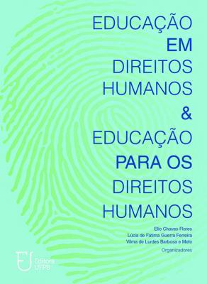 Capa para Educação em Direitos Humanos & Educação para os Direitos Humanos