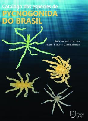Capa para Catálogo de Espécies de Pycnogonida do Brasil