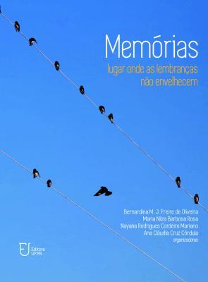 Capa para Memórias: lugar onde as lembranças não envelhecem