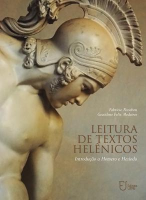 Capa para Leitura de textos helênicos: introdução a Homero e Hesíodo