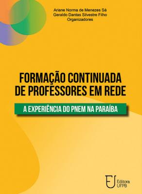 Capa para Formação Continuada de Professores em Rede: A Experiência do PNEM na Paraíba
