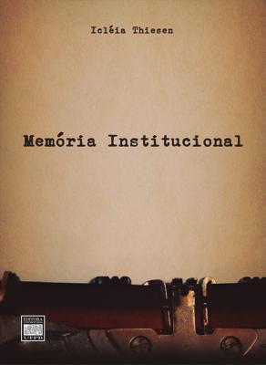 Capa para Memória institucional