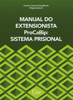 Capa para Manual do Extensionista ProCaBip: Sistema Prisional