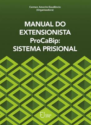 Capa para Manual do Extensionista ProCaBip: Sistema Prisional