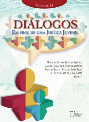 Capa para Diálogos em Prol de Uma Justiça Juvenil: Volume II