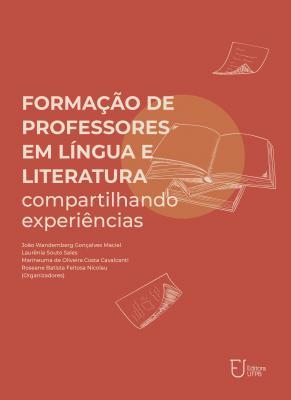Capa para Formação de professores em língua e literatura: compartilhando experiências
