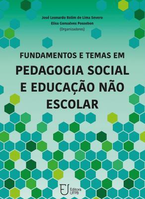 Capa para Fundamentos e temas em pedagogia social e educação não escolar