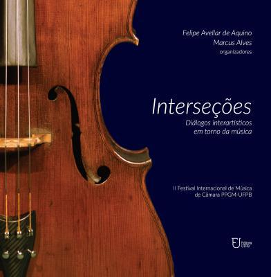 Capa para Interseções: diálogos interartísticos em torno da música