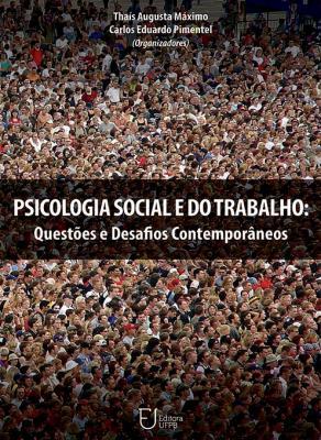 Capa para Psicologia Social e do Trabalho: Questões e Desafios Contemporâneos